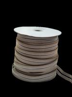 Резинка с просечкой, толщина 1,4 см, бежевая