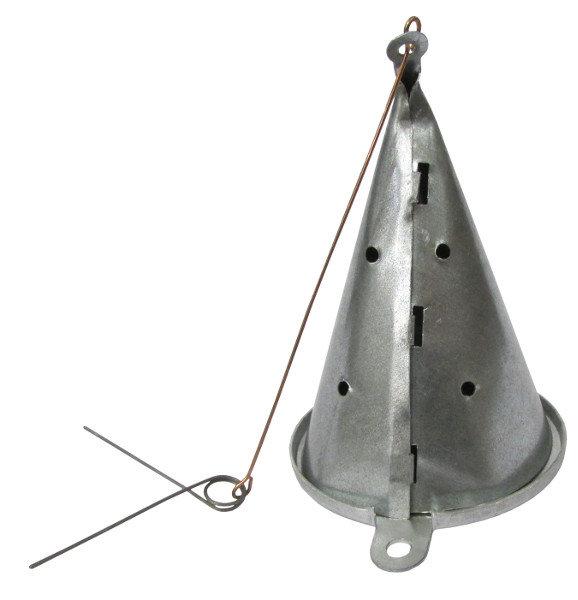 Кормушка зимняя ЧР малая 150 мл. оцинкованная сталь