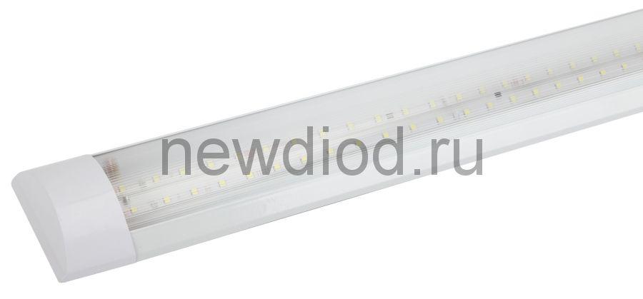 SPO-5-40-6K-P (F) ЭРА Светильник светодиодный линейный 36Вт 2880Лм 6500К 1200мм прозрачный