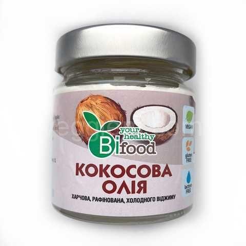 Кокосовое рафинированное масло Bio food, 150 грамм