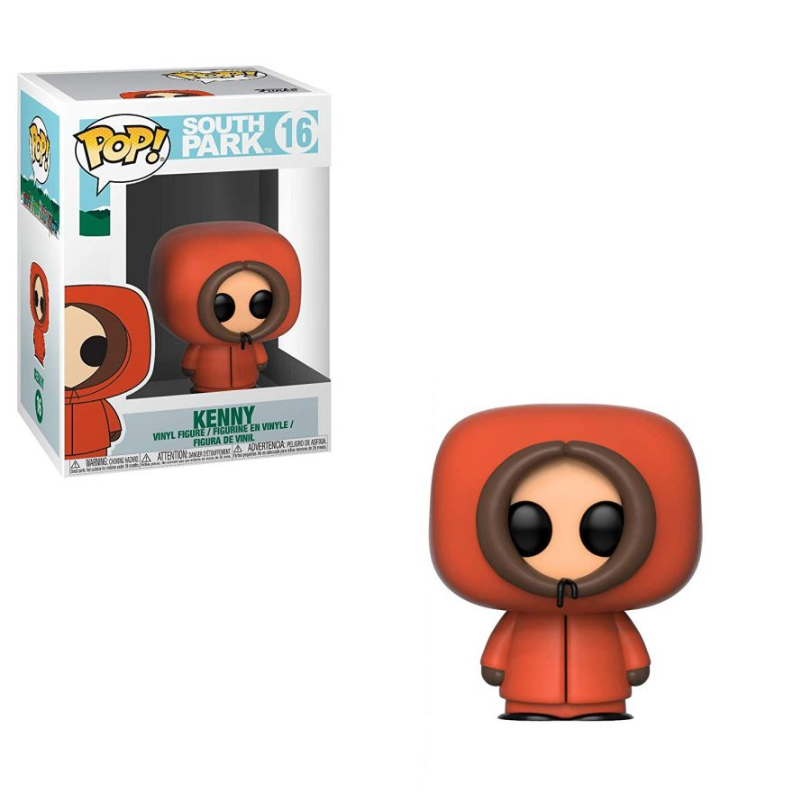 Фигурка Funko POP! Vinyl: South Park W2: Kenny 32860