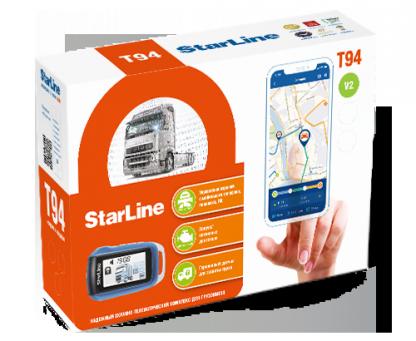 StarLine T94 v2 сигнализация на 24 вольта