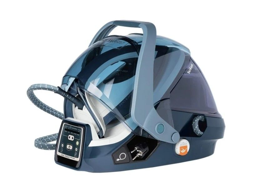 Парогенератор Tefal GV9080 синий/белый