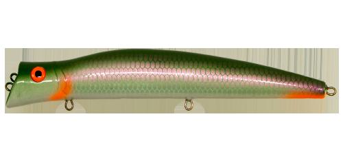 Воблер MERKURI Утюг, цвет 10, серия XI