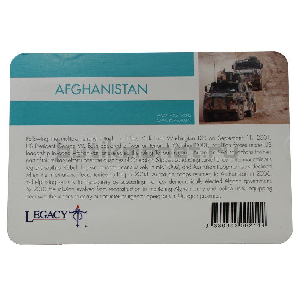 20 центов 2016 Австралия Афганистан (От АНЗАК до Афганистана)