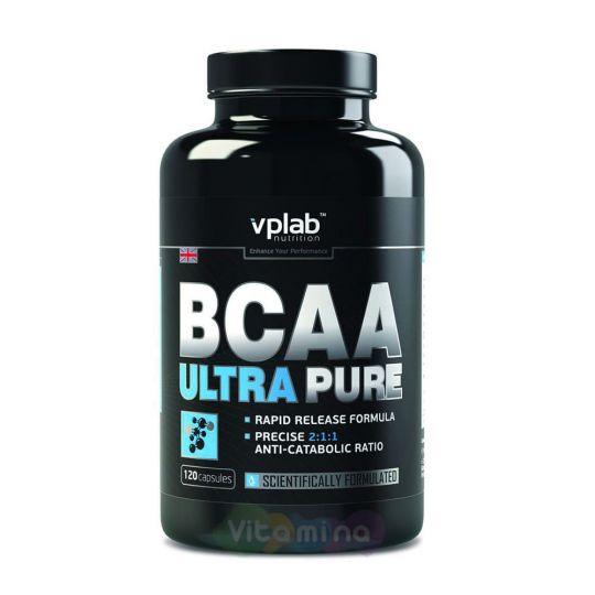 VPLab Аминокислоты BCAA Ultra Pure, 120 капс