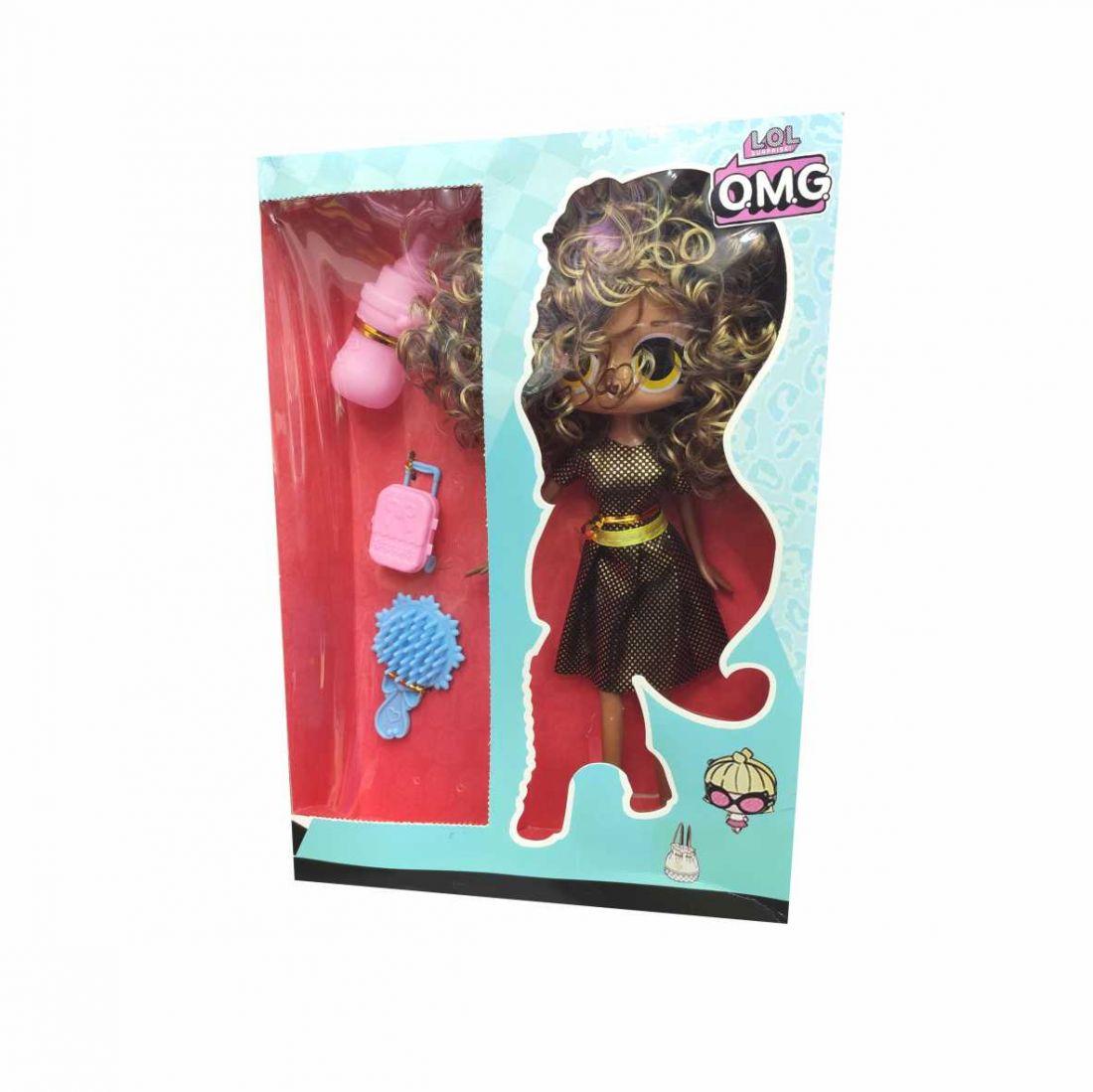 Кукла в коробке LOL OMG кудряшка