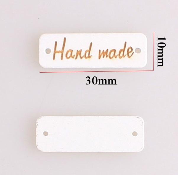 Декор из дерева Бирки HAND MADE (Дер-20.Бирки)