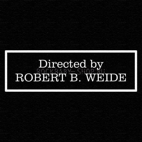 Деревянный значок Directed by Robert B. Weide