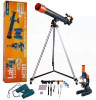 Набор Levenhuk LabZZ MTВ3: микроскоп, телескоп и бинокль - фото
