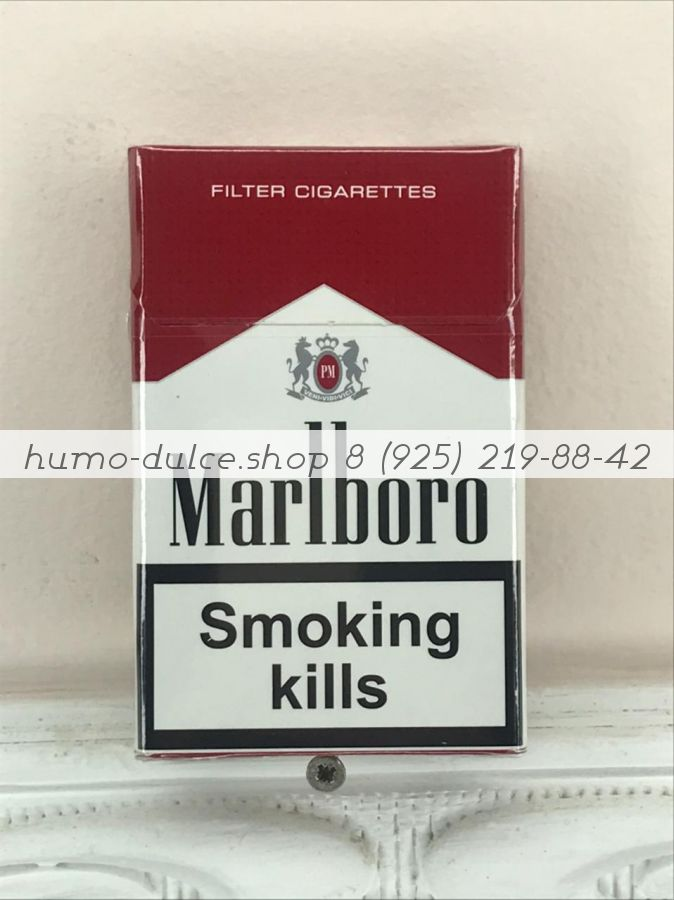 Marlboro Red Nano Duty Free от 10 блоков