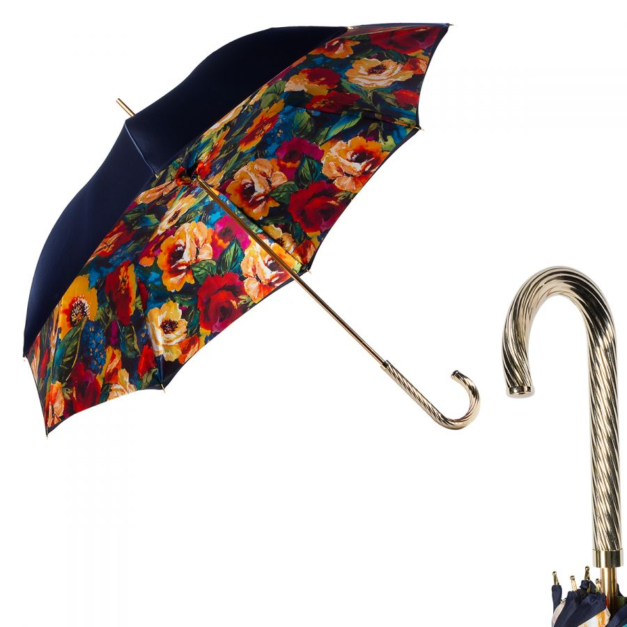 Зонт-трость Pasotti Blu Makro Spring