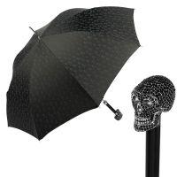 Зонт-трость Pasotti Capo Sculls Swarovski Nero