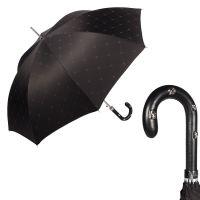 Зонт-трость Pasotti Sculls Pelle Sculls Black