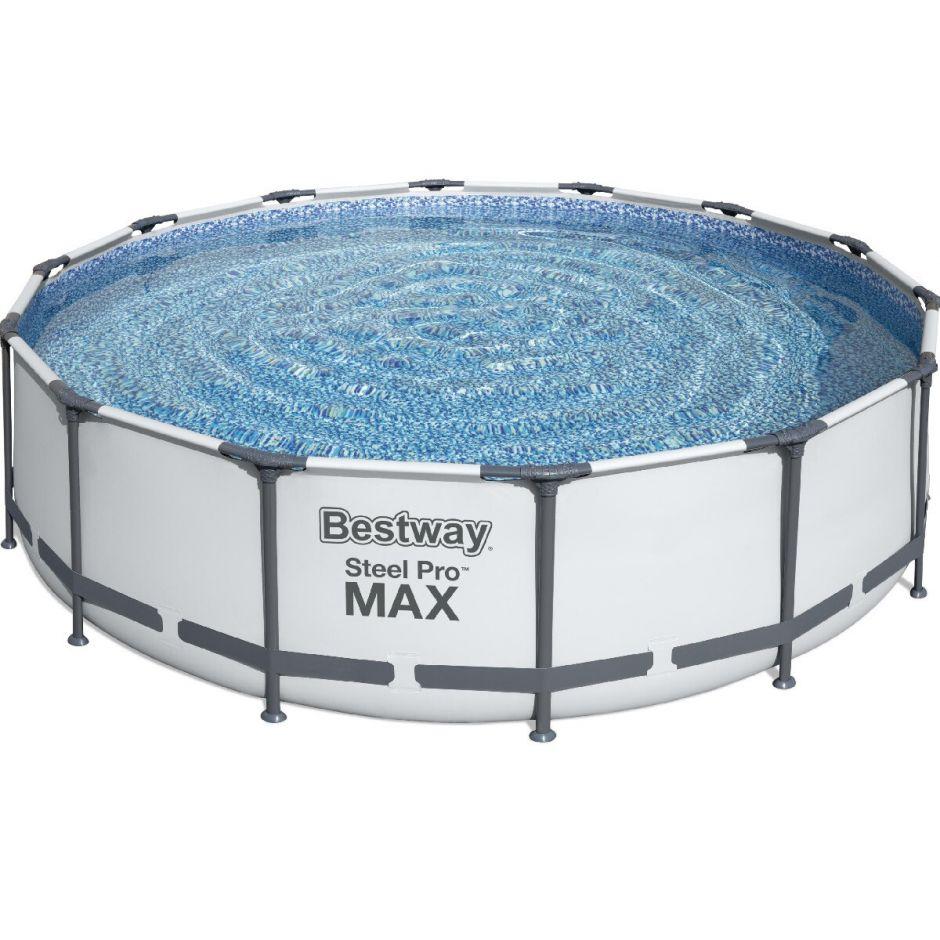 Каркасный бассейн Bestway 56950 (427х107) с картриджным фильтром