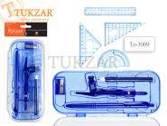 Готовальня из 8 предметов в пласт. коробке (арт. Tz-3009)