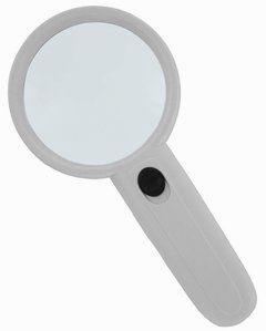 Лупа ручная круглая 3х-75мм с подсветкой