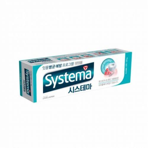 608592 LION Зубная паста освежающая Systema toothpaste ice mint alpha 120g
