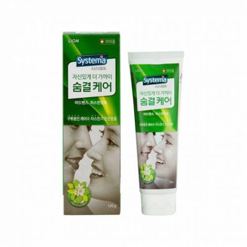 616740 LION Зубная паста с ароматом жасмина Systema breath care 120g