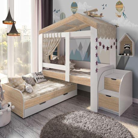 Домик Сказка с окошком и выкатной кроватью