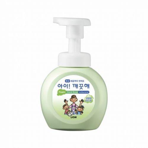 608134 LION Пенное мыло для рук с орехом Ai kekute foaming handsoap muscat 250ml bottle