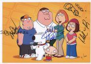 Автографы: Сет МакФарлейн, Алекс Борштейн, Сет Грин, Мила Кунис. Гриффины / Family Guy