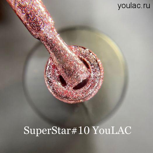 Гель- лак SuperStar 10, 10 мл