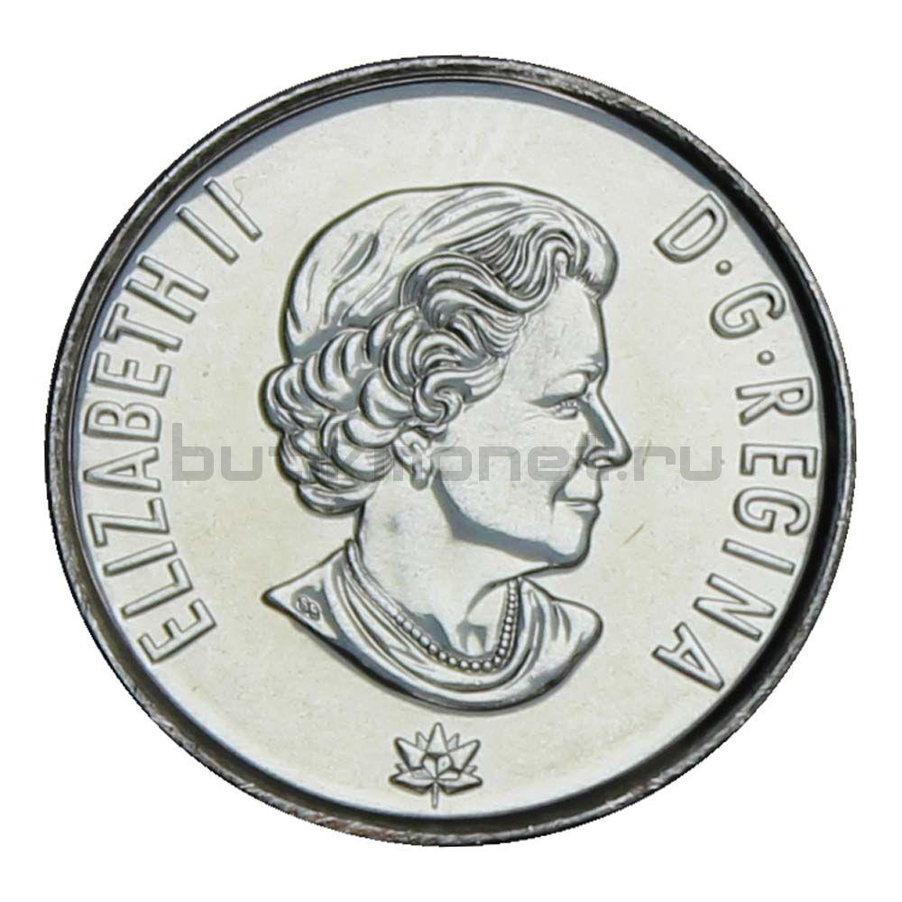 10 центов 2017 Канада Крылья мира (150 лет Конфедерации Канада)
