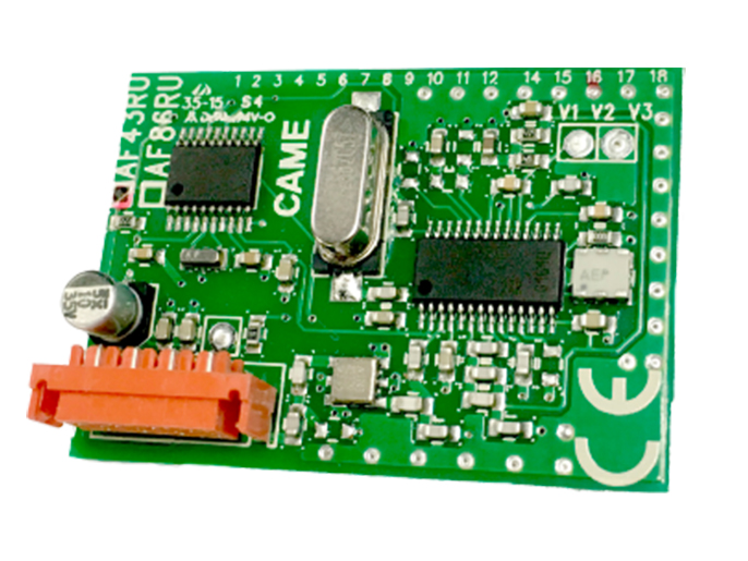 AF43RU Плата-радиоприемник 433.92 МГц (001AF43RU)