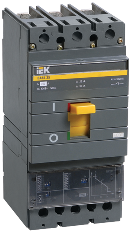 Автоматический выключатель IEK SVA31-3-0250