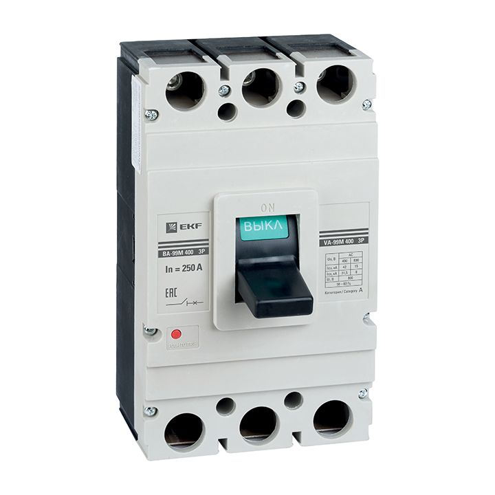EKF Автоматический выключатель ВА-99М 400/315А 3P 42кА EKF Basic