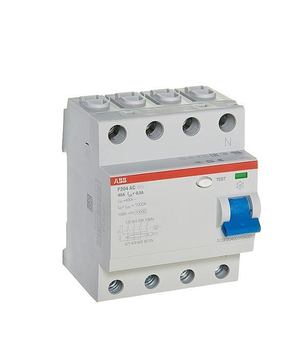 Устройство защитного отключения ABB F204 ELC2CSF204001R1630
