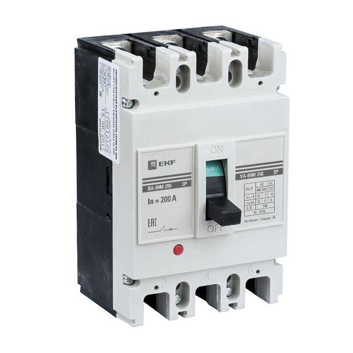 EKF Автоматический выключатель ВА-99М 250/160А 3P 25кА EKF Basic