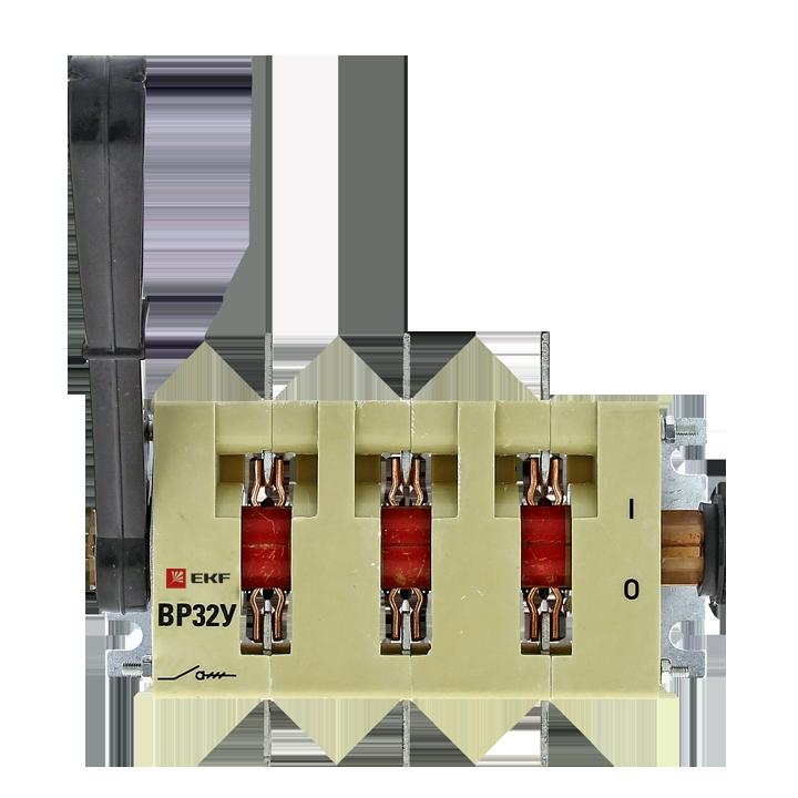 EKF Выключатель-разъединитель ВР32У-37B71250 400А, 2 направления с д/г камерами, съемная левая/права
