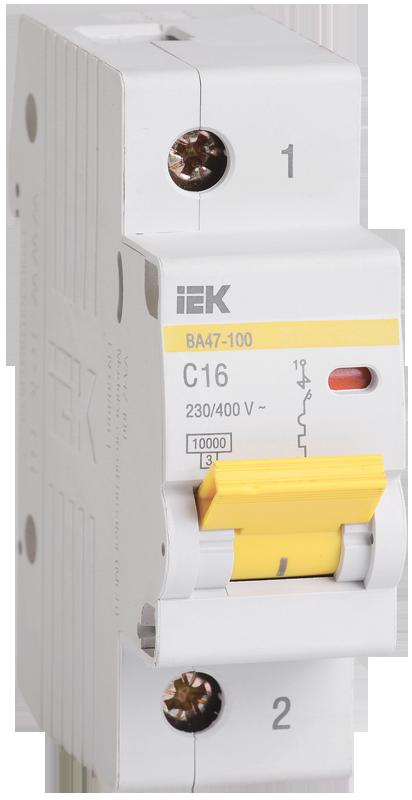 Автоматический выключатель IEK MVA40-1-080-C