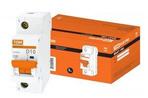 Автоматический выключатель TDM ВА47-100 SQ0207-0050