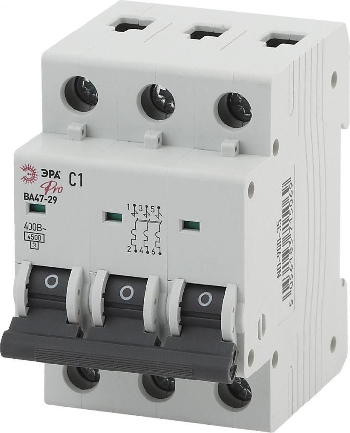 Автоматический выключатель ЭРА ВА47-29 NO-900-46