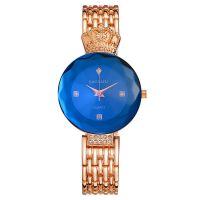 Модные часы с короной Baosaili, Розовое золото