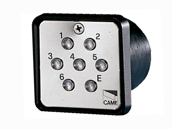 S6000 Клавиатура кодонаборная встраиваемая, 7-кнопочная (001S6000)