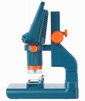 Микроскоп цифровой Levenhuk LabZZ DM200 LCD  - вид сбоку