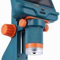 Микроскоп цифровой Levenhuk LabZZ DM200 LCD  - вид снизу