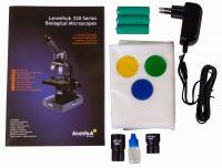 Микроскоп Levenhuk 320 PLUS, монокулярный - комплектация