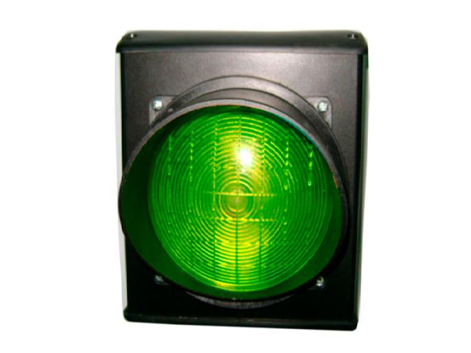 Светофор светодиодный, 1-секционный, зелёный, 230 В (C0000704.1)