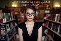 Sleek Retouch & Pure Color Video Tutorial (Maxim Guselnikov) на английском