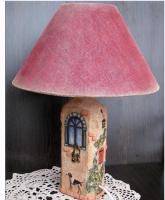 Мастер-класс: Авторский светильник «Старый домик» (Ирина Комарова)
