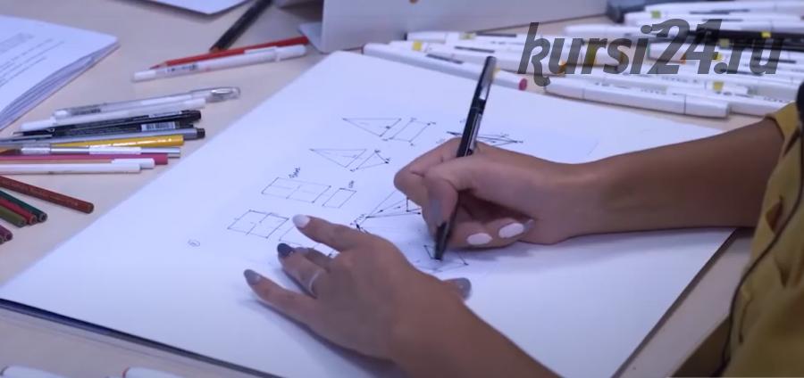 [Artlife academy] Скетчинг маркерами от А до Я (Екатерина Бровка)