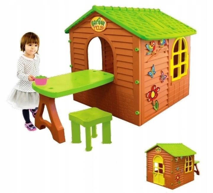 Большой домик для детей+стол,стул