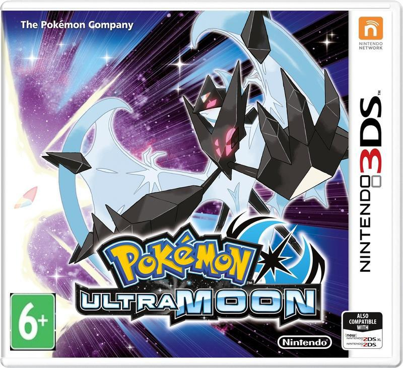Игра Pokemon Ultra Moon (3DS)