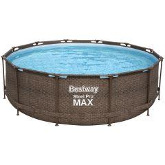 Каркасный бассейн Bestway Ротанг 56709 (366х100) с картриджным фильтром
