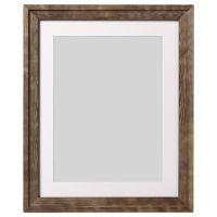 RAMSBORG РАМСБОРГ, Рама, коричневый, 40x50 см - 404.784.05